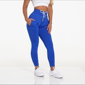 NWT NVGTN Blue Sapphire Joggers Size Large
